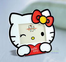"""New Cute For Red Hello Kitty 5"""" Kids Home Family Photo Picture Frame Holder"""
