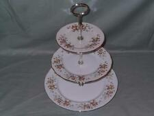 Colclough Avon Bone China 3-Tier anfitriona Placa de la Torta Soporte (V1)