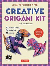 Creative Origami Kit : Learn to Fold Like a Pro! [DVD; 64-Page Book; 72...