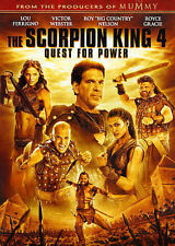 The Scorpion King 4: Quest for Power (DVD, 2015)