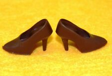 VHTF! Vintage Barbie Reproduction #1647 Gold 'N Glamour BROWN Closed Toe SHOES