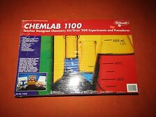 Skilcraft Chemlab Chemistry Learning Set over 1100 Experiments Brand New