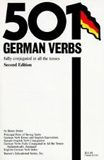 501 German Verbs: Fully Conjugated in All the Tenses (501 verbs series) Strutz,