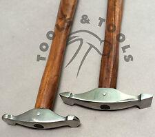 2 PZ GIOIELLI texturing hammer progettare formando metallo color argento Smith repoussee
