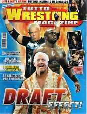 Tutto Wrestling Magazine.Draft,Chris Benoit,Matt & Jeff Hardy,Sable,iii