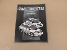 2002 Chrysler Town & Country Voyager Accessories Brochure dealer catalog