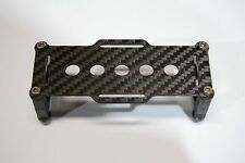 25MM CARBON FIBER BATTERY TRAY FOR CINESTAR / W2 DSLR CAMERA GIMBAL+
