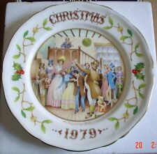 Aynsley Collectors Plate CHRISTMAS 1979 From A Christmas Carol Boxed