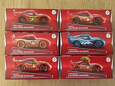 Disney Cars Lightning McQueen Complete set of 6 Puzzle  Box