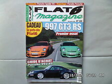 FLAT 6 N°189 11/2006 PORSCHE 997 GT3 RS Guide achat 993 RS   I28