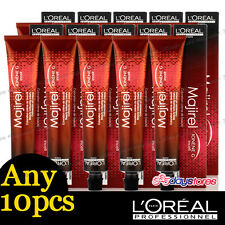 Any 10pcs L'Oreal Majirel Loreal Permanent Colour Hair Dye 50ml