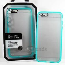 "NEW iPhone 6s 6 PLUS (5.5"") INCIPIO OCTANE Impact Absorbing Case CLEAR Turquoise"