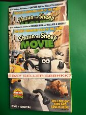 Shaun the Sheep Movie DVD + UV DIGITAL & SLIPCOVER BRAND NEW FREE SHIPPING!