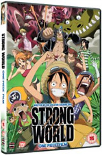 One Piece - The Movie: Strong World  DVD NUOVO