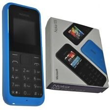 Brand New Nokia 105 - Cyan Blue (Unlocked) Mobile Phone Cheap Sim Free Genuine