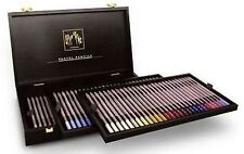 Caran D'ache Pastel Pencils 84 Colour Wooden Box