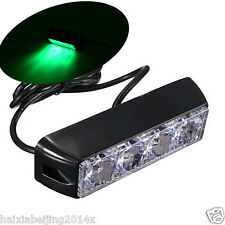 1x Car Green LED Waterproof Warning Hazard Emergency Beacon Flash Strobe Light