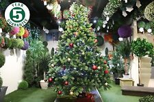 Best Artificial Premium 7ft Realistic Christmas Tree Indoor 100% PE Tips Hinged