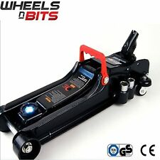 2.25 Ton Tonne Low Profile Floor Trolley Jack Car Wheel Brace 17,19,21,23mm LED