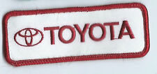 Toyota employee/dealer/owner Patch 1-1/2 X 4 #382