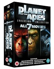PLANET OF THE APES 7 Movie Complete DVD Collection Boxset All Films New Sealed