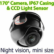 CCD Waterproof Night Car Reverse Camera Rear View Parking Adjustable ET Mini