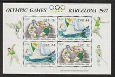 IRELAND 1992 MNH MS836 OLYMPIC GAMES MINISHEET