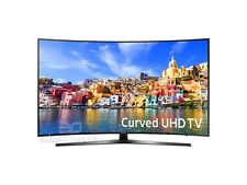 "Samsung UN78KU7500 78"" Class UHD 4K Curved Smart LED TV, 120 Motion Rate"