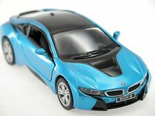 Kinsmart BMW I8 (Blue) Plug-in Hybrid Sports car 1:36 Die Cast Collectable