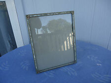 vintage green mother of pearl picture photo frame 8 by 10 inches