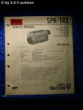 Sony Service Manual SPK TRX Handycam Sports Pack (#2205)
