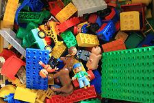 LEGO DUPLO  KNALLER  1 KG GEMISCHTE STEINE AUTOS TIERE -