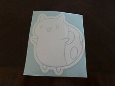 Catbug bravest warriors vinyl die cut decal sticker assorted colors available