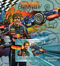 2012 Sebastian Vettel Red Bull Racing Formula 1 Grand Prix Race Car Hoja De Sellos