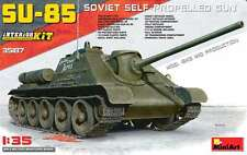 Miniart 1/35  SU-85 Mod. 1943 Mid Prod w/Interior #35187 *New Release*Sealed*