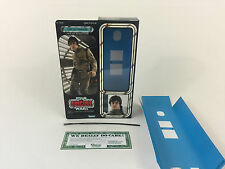 "custom Vintage Star wars esb 12"" luke skywalker bespin box + inserts"