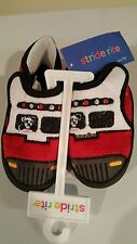 Stride Rite Fire Engine Truck Firetruck Dog Slippers Shoes Toddler Size 7/8