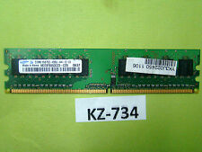 Samsung DDR2-533 RAM PC2-4200U M378T6553CZ3-CD5 512 MB #KZ-734