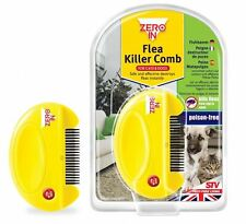 STV ELECTRIC FLEA KILLER COMB FOR PET CATS & DOGS KILLS EGGS + FLEAS POISON FREE