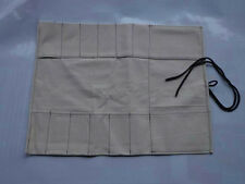 6 Pocket Japanese Canvas Chef's Knife Bag Carry Case Knife Roll Bag Chef Wallet