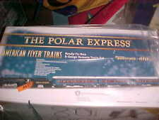 AMERICAN FLYER,,,,,,# 49632....POLAR EXPRESS BERKSHIRE STEAM PASSENGER SET