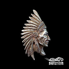 IT) Indian Motorcycle Chieftain, Chief Classic, Vintage Metal Badge Pin