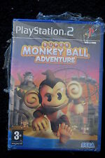 PS2 : SUPER MONKEY BALL ADVENTURE - Nuovo, risigillato, ITA !
