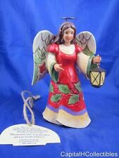 2014 Jim Shore Glad Tidings Glow Pint Sized Angel Figurine 4041082 NIB