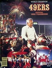 1985 San Francisco 49ers Official Yearbook - Super Bowl Champions
