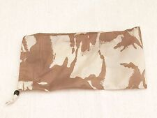 British Army-Issue Desert-DPM Shelter Sheet / Basha Stuff Sack.