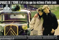 Coupure de Presse Clipping 2001 (6 pages) Les Disparues de L'Yonne Emile Louis