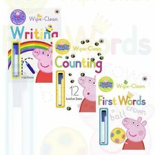 Peppa Pig's Practise with Peppa Collection 3 Books Set Writing CountingFirst New