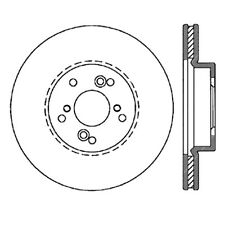 SportStop XDrilled & Slotted Rotor fits 1999-2012 Honda Accord Odyssey Pilot  ST
