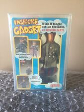 "Vintage 1983 Galoob Inspector Gadget Doll 12"" action figure Rare AFA 75 WOW Look"